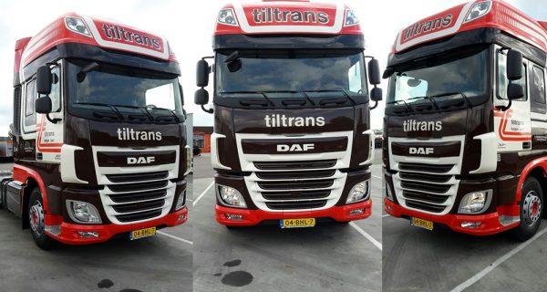 2e DAF XF voor Tiltrans