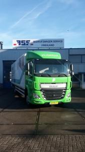 Eerste DAF CF truck voor Rentex
