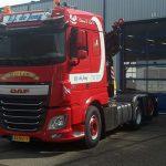 DAF FTN XF EJ de Jong transport