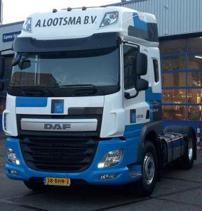 2e DAF CF uit een serie van vier afgeleverd door Bedrijfswagen Service Friesland