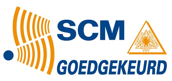 Bedrijfswagen Service Friesland is een scm erkend inbouwstation voor een alarmsysteem in uw vrachtwagen - Voor het inbouwen en/of periodiek keuren zijn wij uw adres!